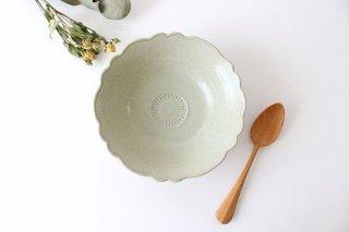 芙蓉鉢 6寸 青マット 陶器 櫻井薫商品画像