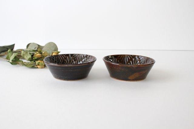 豆鉢 アメ 陶器 櫻井薫 画像2