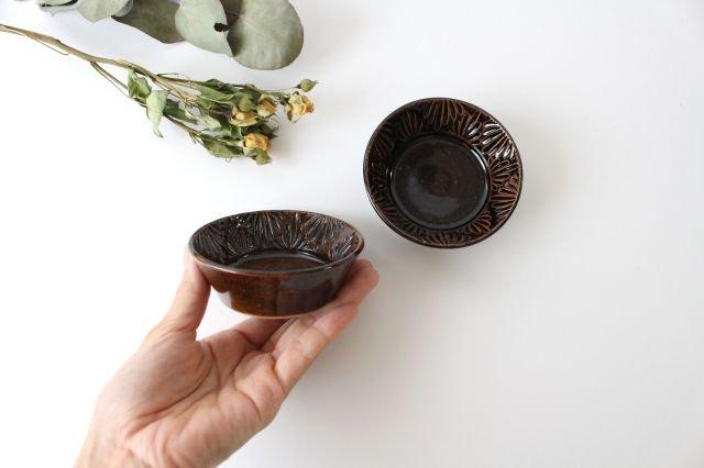豆鉢 アメ 陶器 櫻井薫 画像3