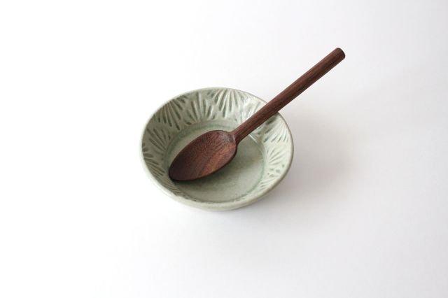 豆鉢 青マット 陶器 櫻井薫