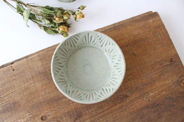豆鉢 青マット 陶器 櫻井薫 画像2