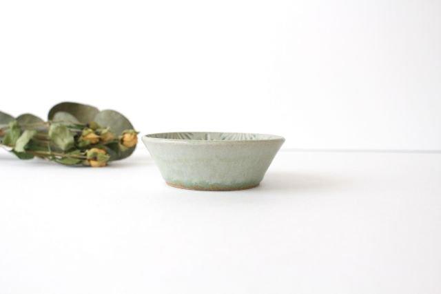 豆鉢 青マット 陶器 櫻井薫 画像3