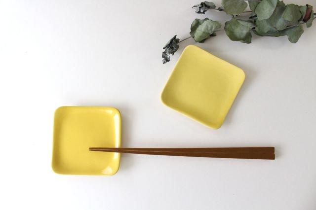 四角小皿 レモン 陶器 momone 画像3