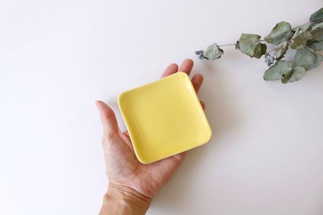 四角小皿 レモン 陶器 momone 画像4