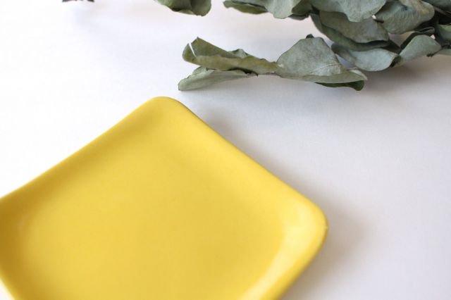 四角小皿 レモン 陶器 momone 画像5