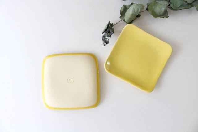 四角小皿 レモン 陶器 momone 画像6