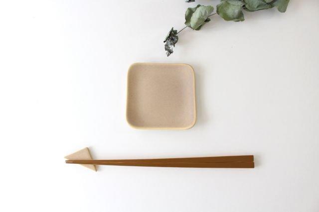 四角小皿 ピンク 陶器 momone 画像3