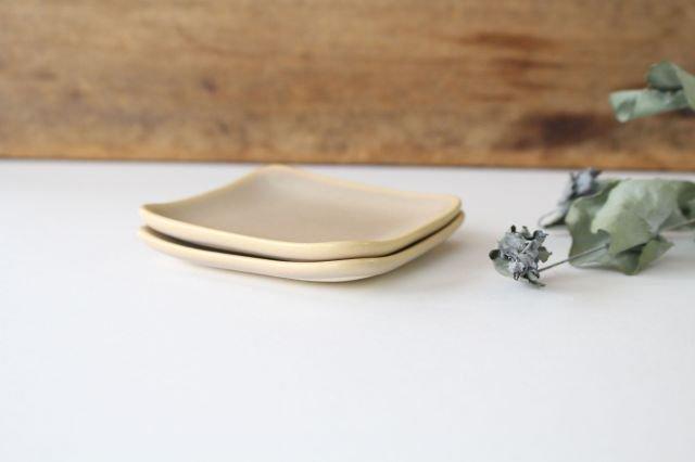 四角小皿 ピンク 陶器 momone 画像4