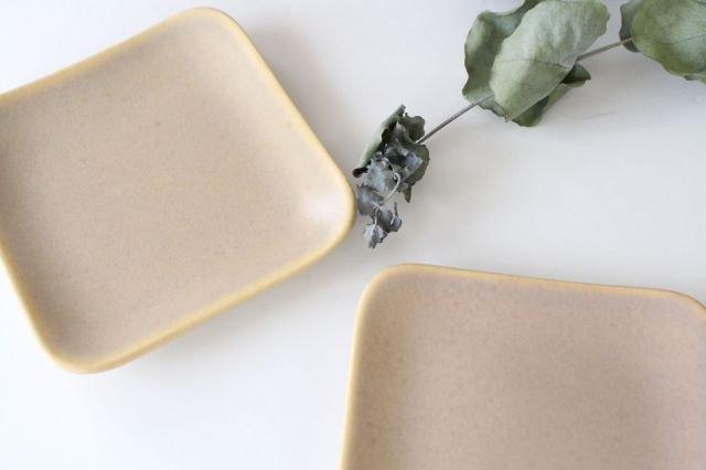 四角小皿 ピンク 陶器 momone 画像6