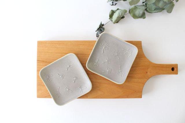 四角小皿 wa-ta-ge 陶器 momone