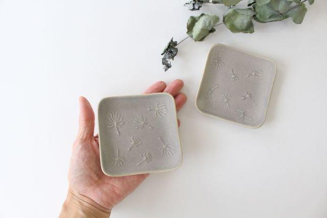 四角小皿 wa-ta-ge 陶器 momone 画像2