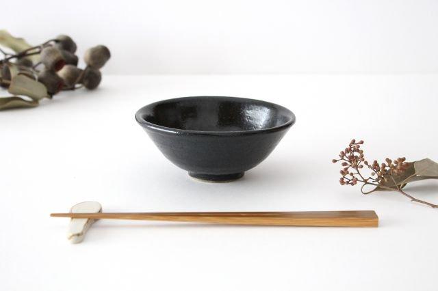 飯碗 黒銅 陶器 石井ハジメ 画像2