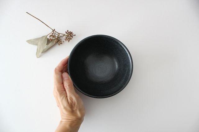 飯碗 黒銅 陶器 石井ハジメ 画像3