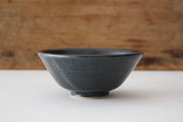 飯碗 黒銅 陶器 石井ハジメ 画像4