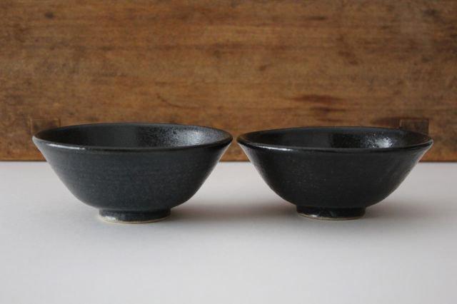 飯碗 黒銅 陶器 石井ハジメ 画像6
