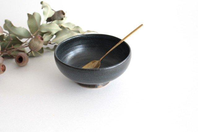 ボウル4寸 黒銅 陶器 石井ハジメ