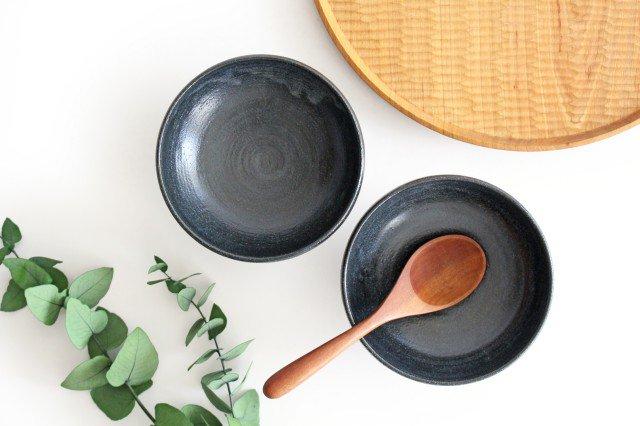 ボウル4寸 黒銅 陶器 石井ハジメ 画像3