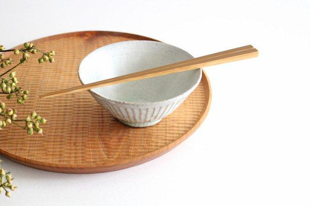 飯碗 しのぎ 粉引 陶器 伊藤豊 画像2