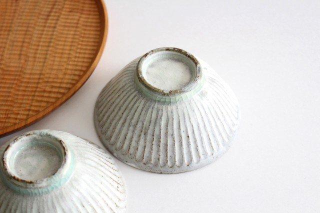 飯碗 しのぎ 粉引 陶器 伊藤豊 画像3