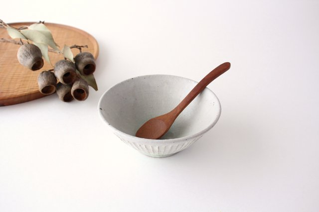 飯碗 しのぎ 粉引 陶器 伊藤豊 画像4