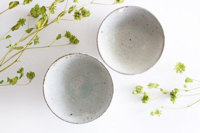 飯碗 しのぎ 粉引 陶器 伊藤豊 画像6