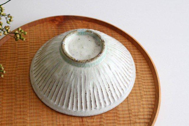 丼ぶり しのぎ 粉引 陶器 伊藤豊 画像2