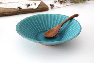 朝顔鉢 中 シャビーターコイズ 陶器 わかさま陶芸 益子焼商品画像