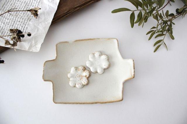 里山箸置き 菜の花 kinari 陶器 わかさま陶芸 益子焼