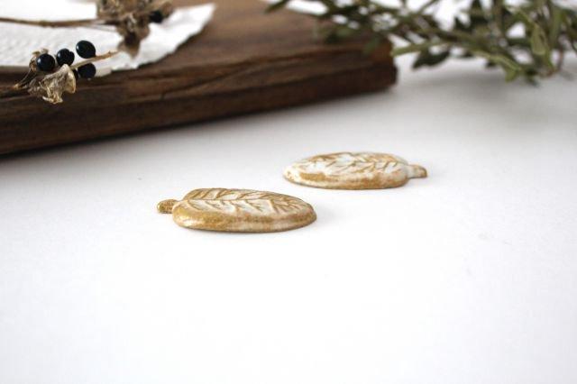 里山箸置き けやき kinari 陶器 わかさま陶芸 益子焼 画像3