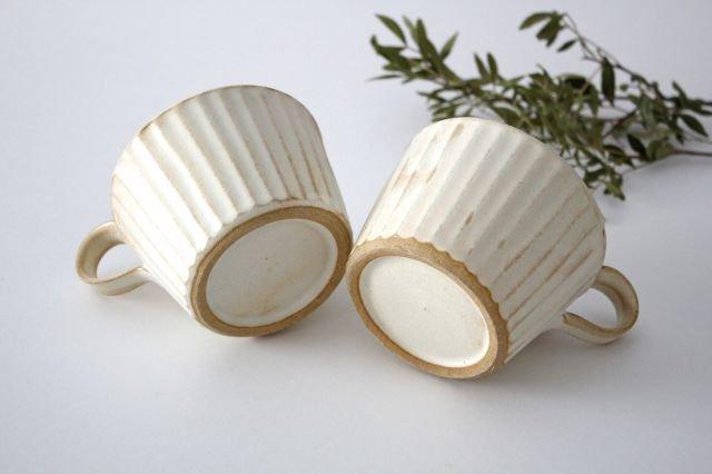 モダンマグカップ kinari鎬 陶器 わかさま陶芸 益子焼 画像3
