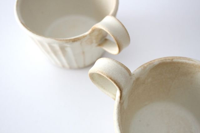 モダンマグカップ kinari鎬 陶器 わかさま陶芸 益子焼 画像6