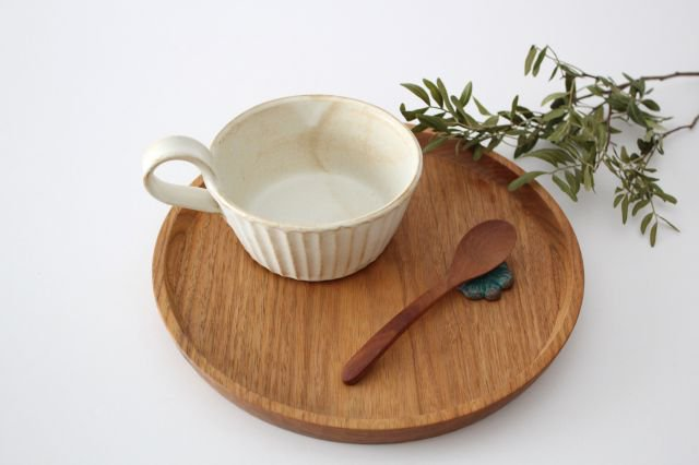 スープカップ kinari鎬 陶器 わかさま陶芸 益子焼