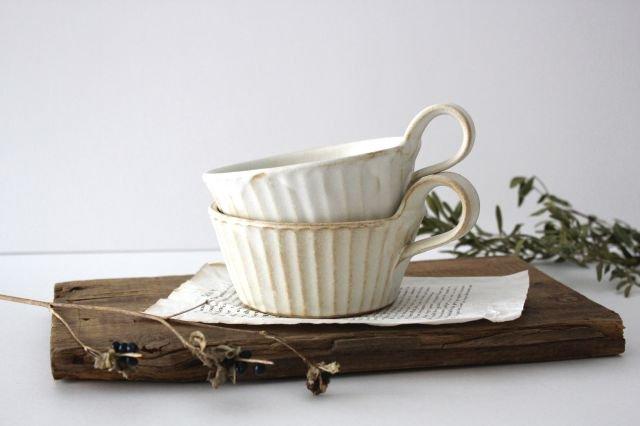 スープカップ kinari鎬 陶器 わかさま陶芸 益子焼 画像2