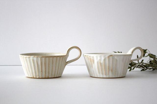 スープカップ kinari鎬 陶器 わかさま陶芸 益子焼 画像6