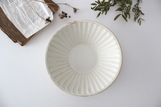 朝顔鉢 中 kinari鎬 陶器 わかさま陶芸 益子焼 画像2