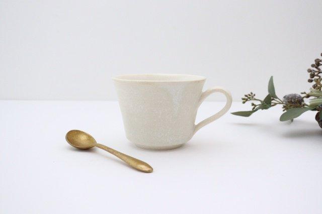 マグカップ チタン 白 半磁器 後藤奈々