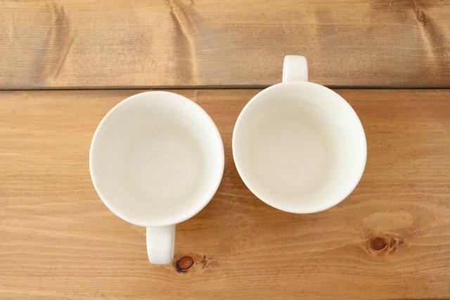 マグカップ チタン 白 半磁器 後藤奈々 画像2