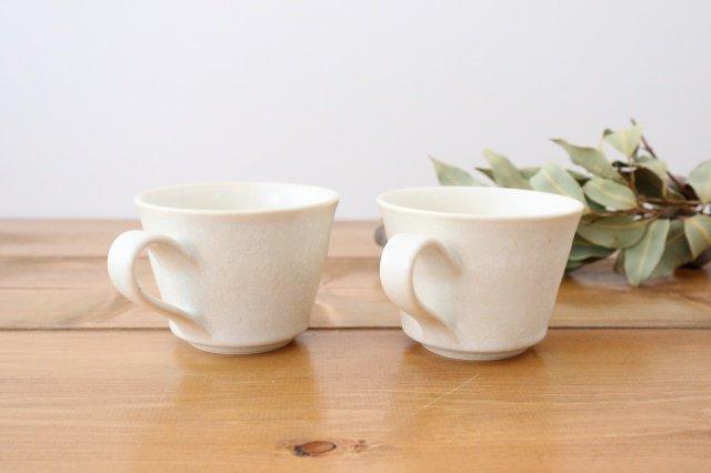 マグカップ チタン 白 半磁器 後藤奈々 画像3