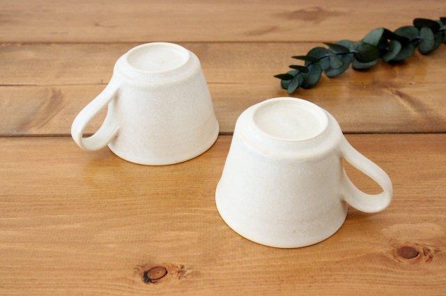 マグカップ チタン 白 半磁器 後藤奈々 画像4