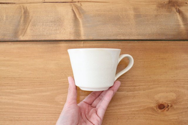 マグカップ チタン 白 半磁器 後藤奈々 画像5