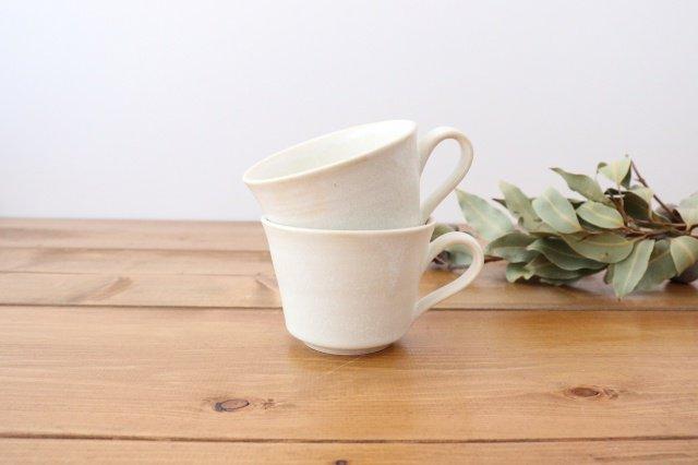 マグカップ チタン 白 半磁器 後藤奈々 画像6