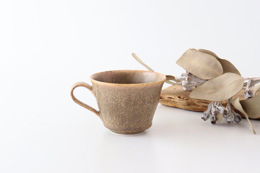 マグカップ チタン 茶 半磁器 後藤奈々