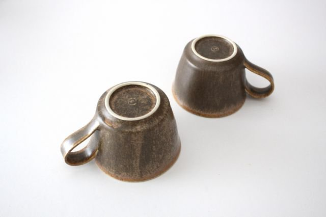 マグカップ チタン 茶 半磁器 後藤奈々 画像5