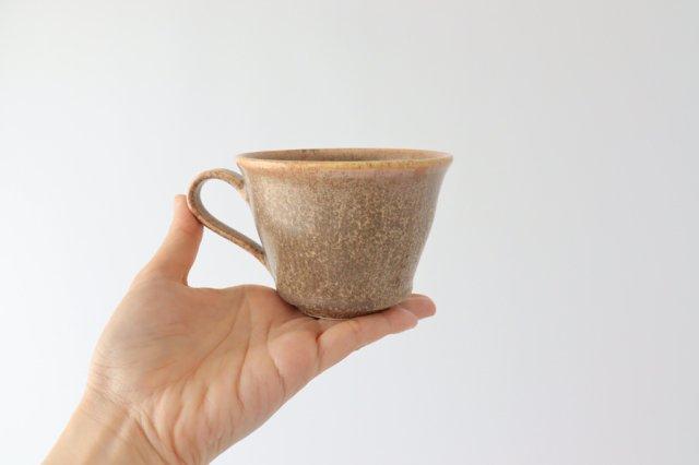 マグカップ チタン 茶 半磁器 後藤奈々 画像6