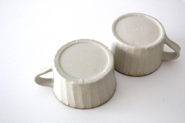 皮鯨マグカップ 灰マット 半磁器 ツキゾエハル 画像3