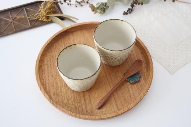 フリーカップ ヘリンボーン 半磁器 ツキゾエハル 画像4