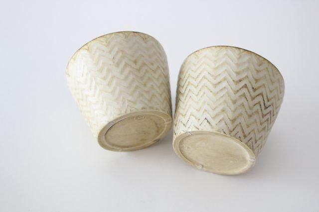フリーカップ ヘリンボーン 半磁器 ツキゾエハル 画像5