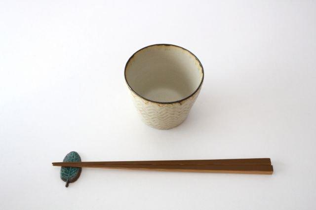 フリーカップ ヘリンボーン 半磁器 ツキゾエハル 画像6