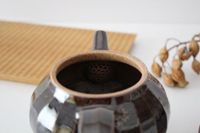 ポット 飴 陶器 笠原良子 画像5