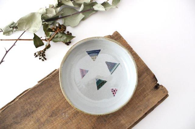 【一点もの】 三角 小皿 【B】 陶器 相澤かなえ
